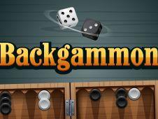 Backgammon Alb Negru