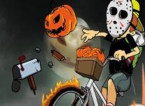 Baiatul cu Ziare de Halloween