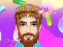 Taticul la Salonul de Barba