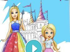Barbie Creatii de Colorat