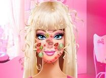 Barbie Ingrijire Faciala si Haine