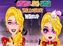 Barbie si Bebelusa Machiaj de Halloween