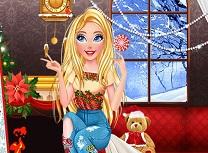 Barbie Machiaje de Craciun in Trend