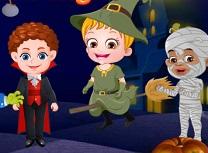Bebelusa Hazel Seara de Halloween