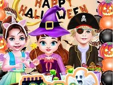 Bebelusa Taylor Petrecere Perfecta de Halloween