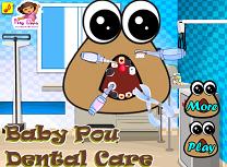 Bebelusul Pou la Dentist