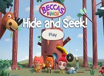 Gasca lui Becca Ascunde si Gaseste