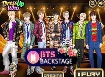 BTS In Spatele Scenei