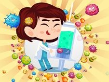 Bubble Shooter cu Virusi