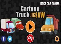 Camioane Animate Puzzle
