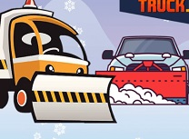 Camioane de Iarna Puzzle