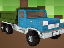 Camioane Minecraft Puzzle