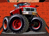 Camioane Monstru Puzzle