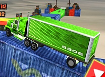 Cascadorii cu Camioane de Parcat