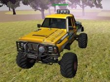 Campionat Offroad Monster Truck in Padure