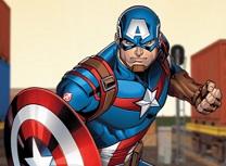 Capitanul America Atac cu Scutul