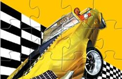 Puzzle cu Taxi