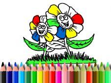 Coloreaza Florile