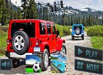 Simulator de Jeep cu Pasageri pe Deal