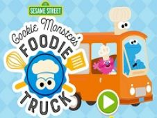 Cookie Monster Camion de Mancare