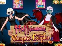 Cuplu Vampir de Halloween