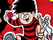 Dennis si Gnasher Splat Attack