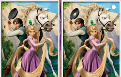 Rapunzel Cauta Diferentele
