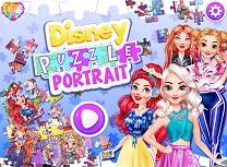 Disney Portret Puzzle