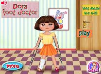 Dora s-a lovit la Picior