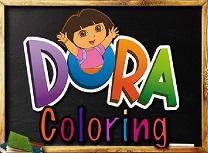 Dora Pagina de Colorat