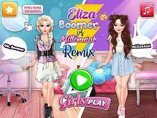 Eliza Boomer vs Remix Millennial