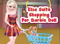 Elsa Cumparaturi pentru Casa lui Barbie