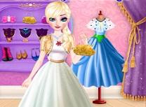 Elsa Incercarea de Imbracat