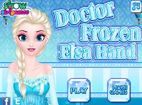 Elsa la Doctorul de Mana