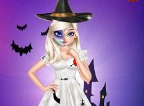 Elsa Machiaj de Halloween