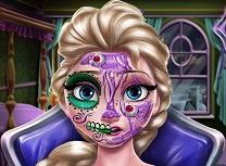 Elsa Machiaj Infricosator de Halloween