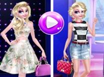 Elsa Fashion cu Par scurt vs Par Lung