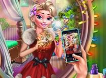 Elsa Selfie de Anul Nou