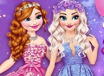 Elsa si Anna Trimise in Taramul Zanelor