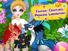 Elsa si Creaturile Fantastice