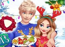 Elsa si Jack Craciun Magic Impreuna