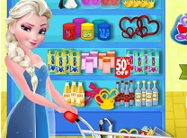 Elsa Decoreaza Tort