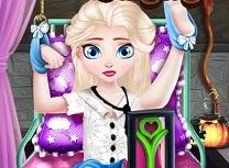 Bebelusa Elsa Operatie de Halloween