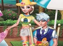 Elsa si Jack Zi la Picnic