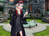 Elsa Prima zi la Hogwarts