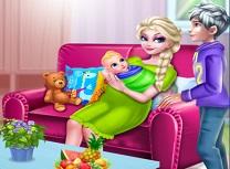 Elsa si Jack Frost au Bebelus