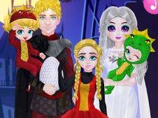 Familia Printesei Costume de Halloween