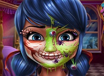 Fata cu Buline Machiaj de Halloween