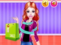 Cumparaturi la Mall cu Fiica
