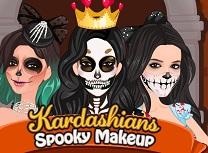 Surorile Kardashian Machiaj de Speriat